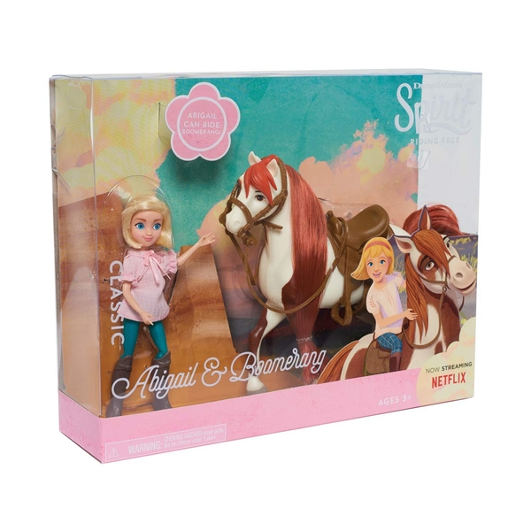 Spirit Small Doll & Classic Horse -  Abigail and Boomerang