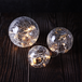 Fairy Light Crackle Glass Orbs - Set of 3 | M&W - Image 4