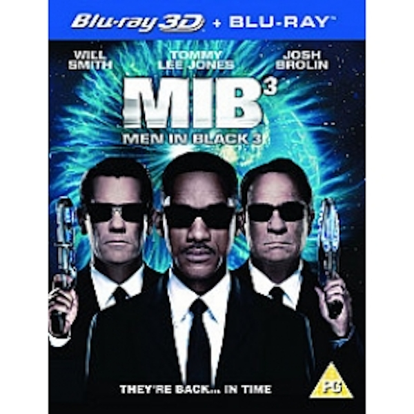 Men In Black 3 3D Blu-ray & UV Copy - Image 2