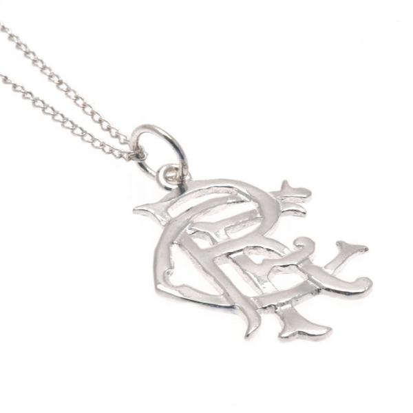Rangers FC Sterling Silver Pendant & Chain
