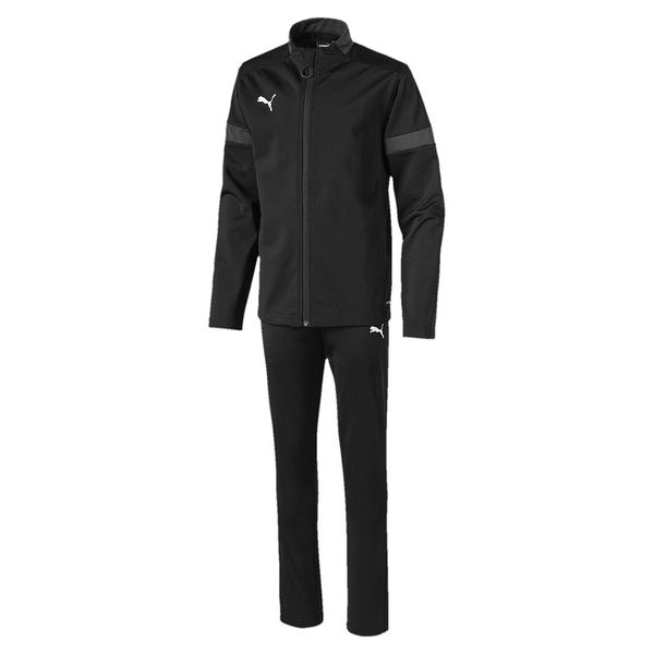 Puma Junior ftblPLAY Tracksuit Asphalt/Black - 11-12 Years