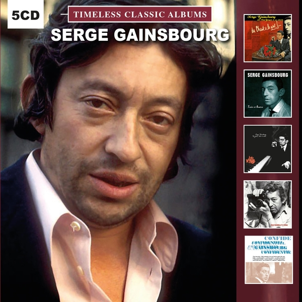 Serge Gainsbourg - Timeless Classic Albums CD