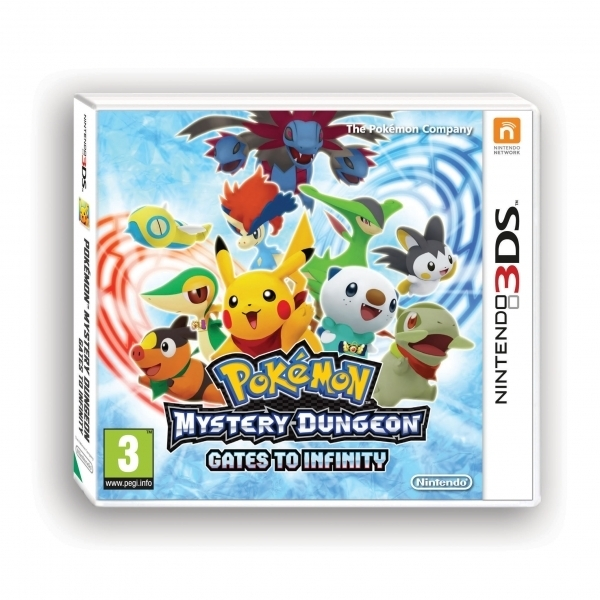 Pokemon Mystery Dungeon Gates To Infinity Game 3DS