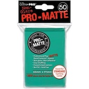 Ultra Pro Matte Aqua 50 Sleeves DPD - 12 Packs