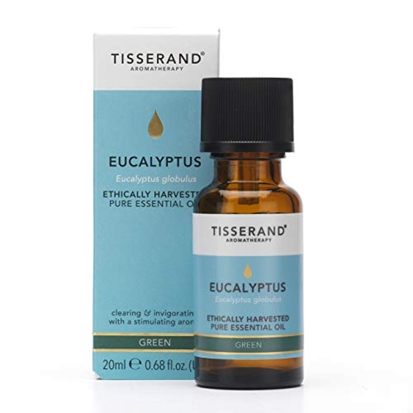 Tisserand Aromatherapy Eucalyptus Essential Oil Ethically Harvested 20ml