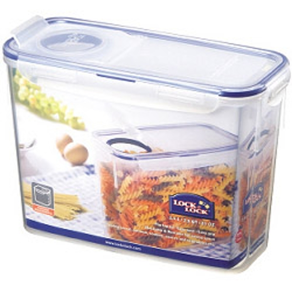 Lock & Lock Food Storage Container - Rectangular with Flip Top Lid 2.4L (237 x 112 x 170mm)
