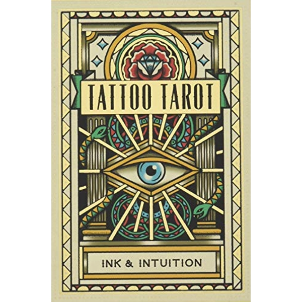 Tattoo Tarot Ink & Intuition Cards 2018