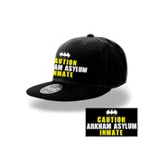 Batman - Arkham Inmate Men's  Snapback - Black