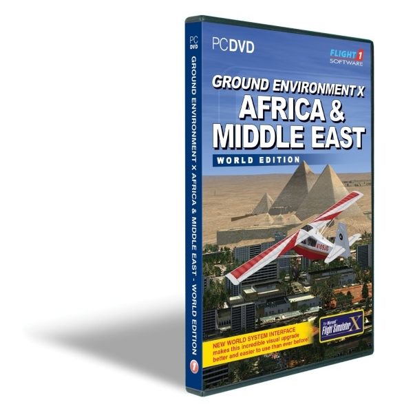 Ground Environment X Africa and Middle East World Edition for FSX Game PC