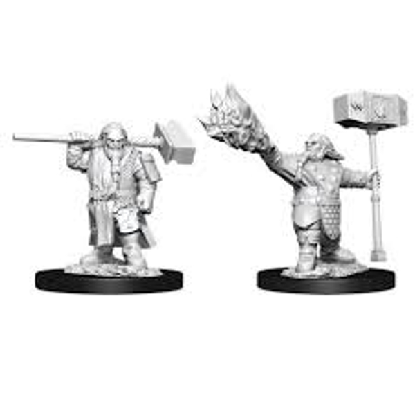 Dungeons & Dragons Nolzur's Marvelous Unpainted Miniatures (W11) Male Dwarf Cleric