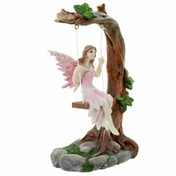 Swing Flower Fairy Figurine