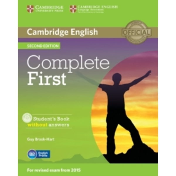 Complete First Student's Book without Answers with CD-ROM by Guy Brook-Hart (Mixed media product, 2014)