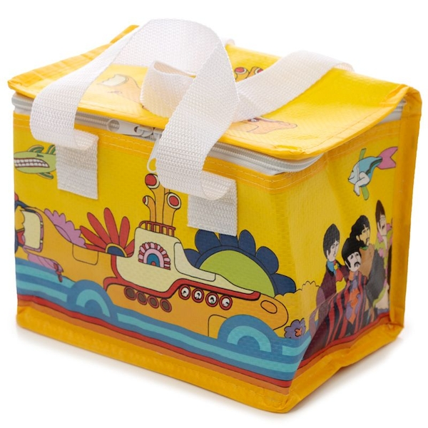 Woven Picnic Cool Bag - Yellow Submarine