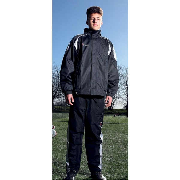 Precision Ultimate Rain Jacket Black/Silver/White 34-36