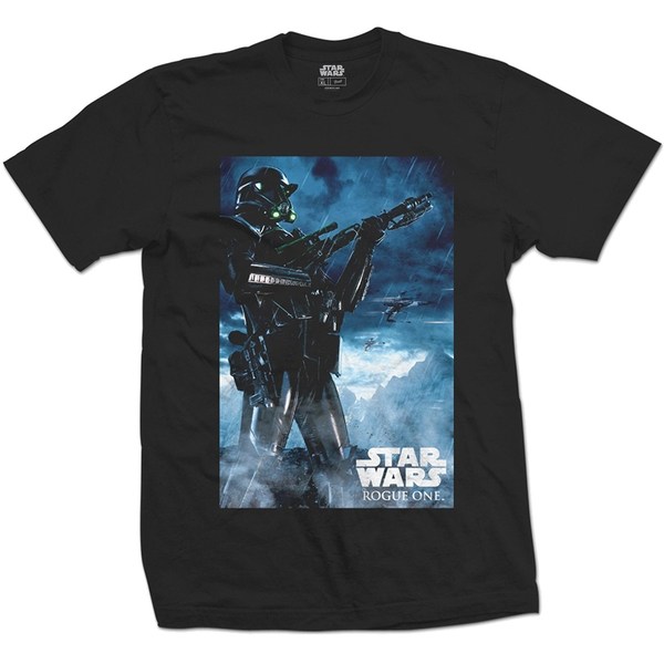 Star Wars - Rogue One Death Trooper Unisex Medium T-Shirt - Black
