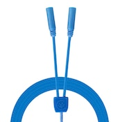 Urbanz INC-235S-P6BL Incredi-Cables 3.5mm Corded Audio Splitter - Blue