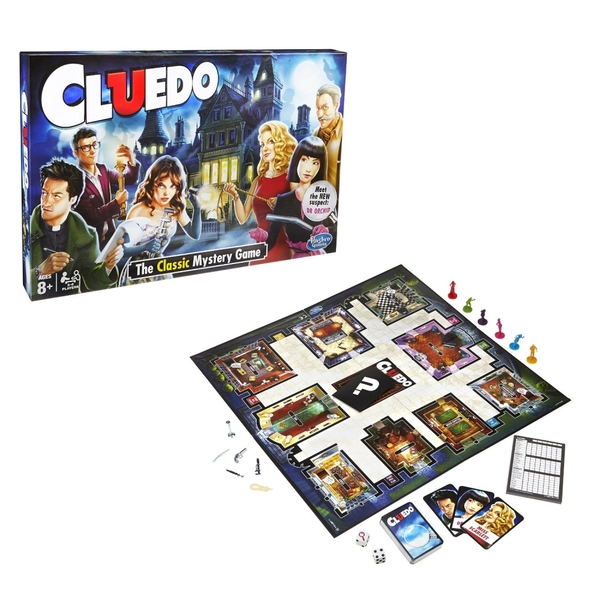 Hasbro Cluedo The Classic Mystery Game - Image 2