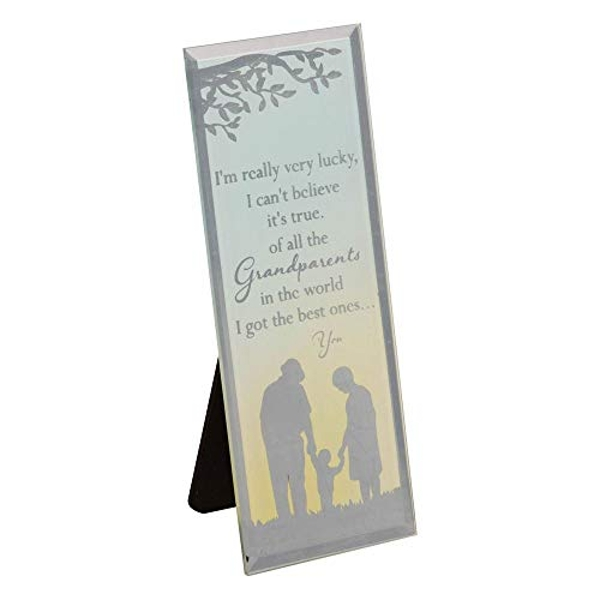 Reflections Of The Heart Grandparents Standing Plaque