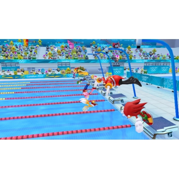Wii Games List 2012 : Mario sonic at the london olympic games wii