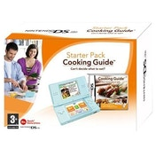 DS Lite Console System in Turquoise with Cooking Guide DS Game