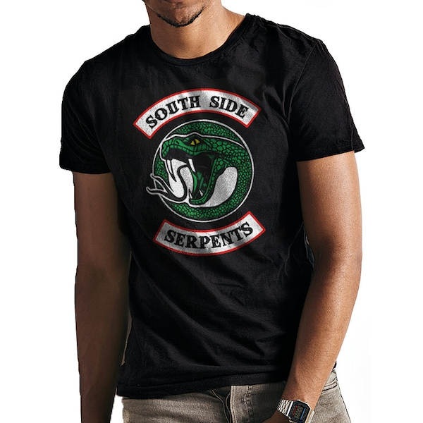 Riverdale - Southside Serpant Men's Large T-Shirt - Black