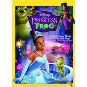 The Princess & The Frog DVD