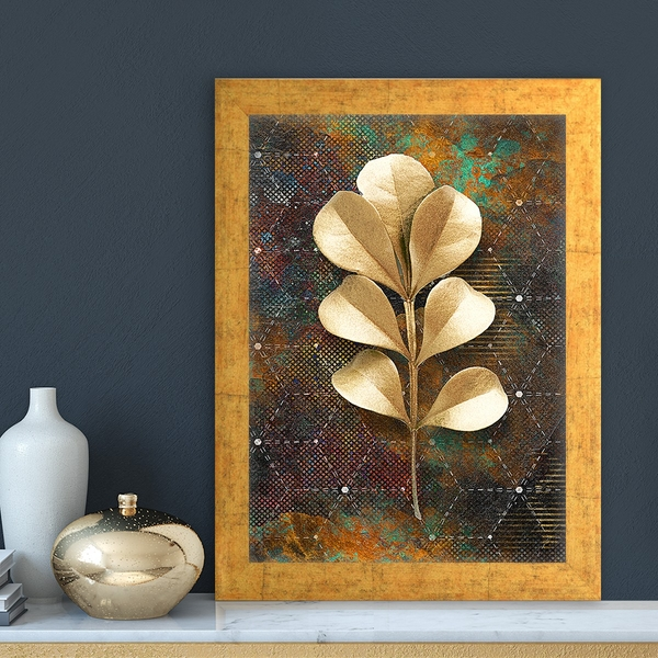 AC1588171729 Multicolor Decorative Framed MDF Painting