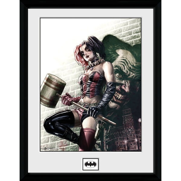 Harley Quinn Hammer Collector Print