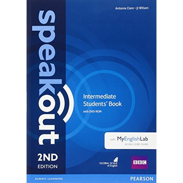 Speakout Intermediate 2nd Edition Students' Book with DVD-ROM and MyEnglishLab Access Code Pack  Mixed media product 2016