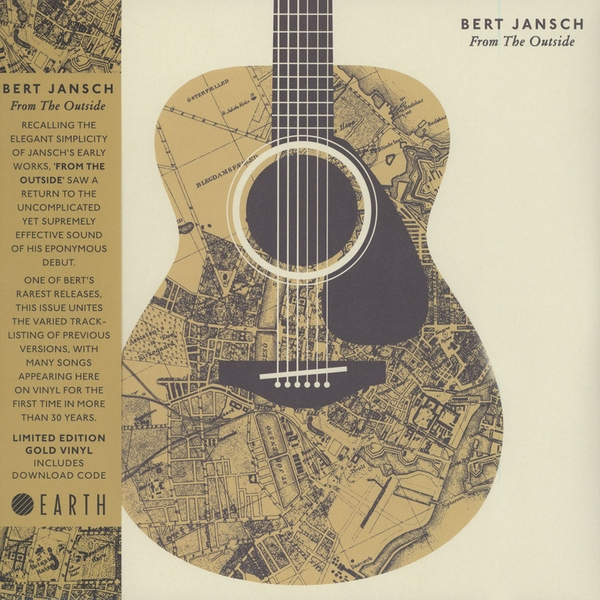 Bert Jansch – From The Outside Limited Edition Gold Vinyl