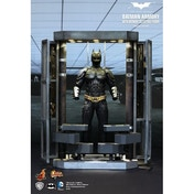Hot Toys The Dark Knight: Batman Armory With Batsuit & Collectible Figure