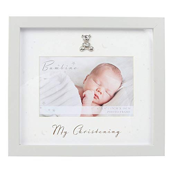 "6"" x 4"" - Bambino My Christening Photo Frame"
