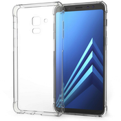 Caseflex Samsung Galaxy A8 (2018) Alpha TPU Gel Case - Clear