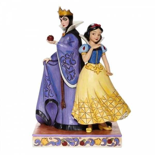 Evil and Innocence Snow White and Evil Queen Figurine