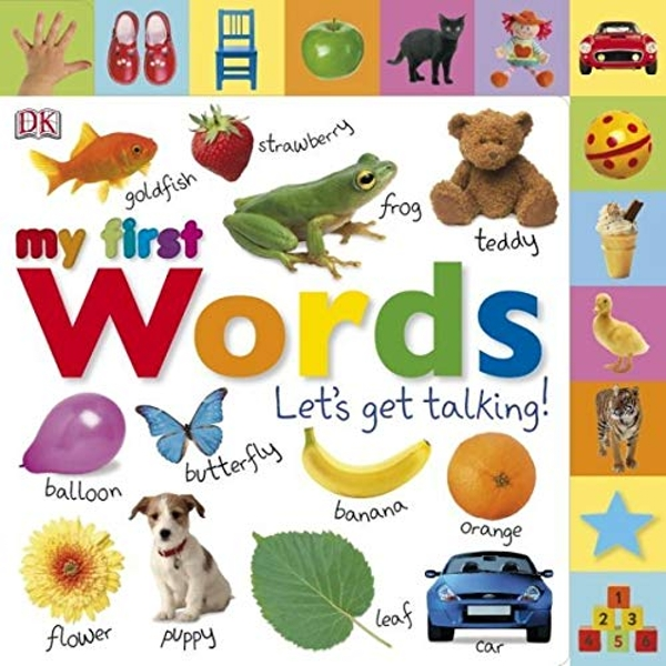 My First Words Let's Get Talking by DK (Board book, 2011)