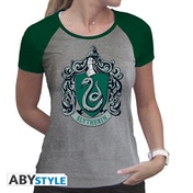 Harry Potter - Slytherin Women's Large T-Shirt - Green