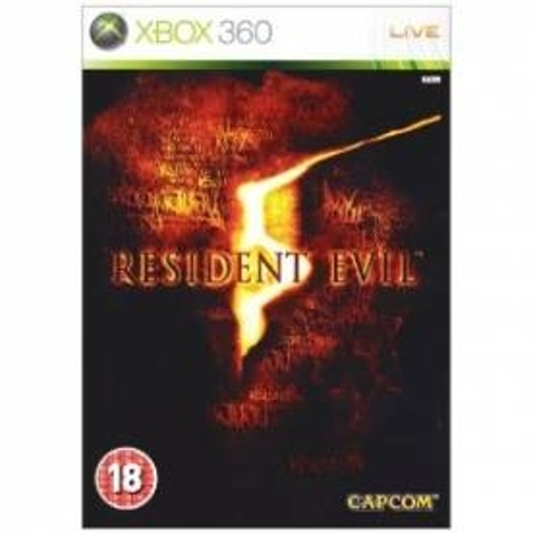 Pre-Owned Resident Evil 5 Game Xbox 360 Used - Like New