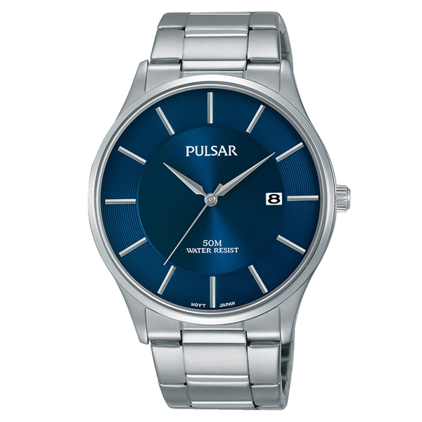 Pulsar PS9541X1 Mens Analogue Stainless Steel Watch 50M