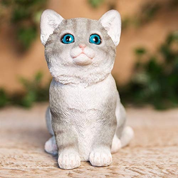 Best of Breed Collection - Grey & White Kitten Figurine