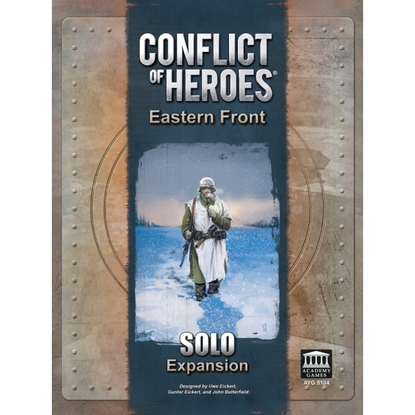 Conflict of Heroes Eastern Front Solo Expansion Board Game
