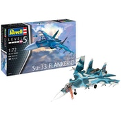Sukhoi Su-33 Flanker D 1:72 Revell Model Kit