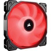 Corsair AF High Airflow Low Noise Red LED Cooling Fan - 120mm