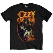 Ozzy Osbourne - Diary of a Mad Man Men's X-Large T-Shirt - Black