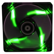 BitFenix Spectre 140mm Fan Green LED - black