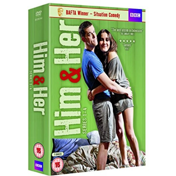 Him & Her - Series 1 - 4 DVD