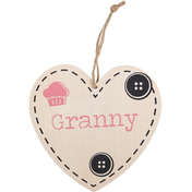 Granny Hanging Heart Sign