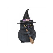 Lucky Black Cat Figurine
