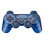 Official Sony Dualshock 3 Controller Transparent Blue PS3