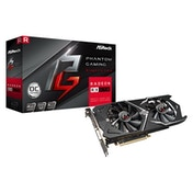 ASRock Phantom Gaming X Radeon RX570 4GB OC Dual Fan Graphics Card