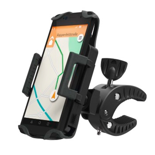 Hama Universal Smartphone Bike Holder for devices with a width between 5 to 9 cm